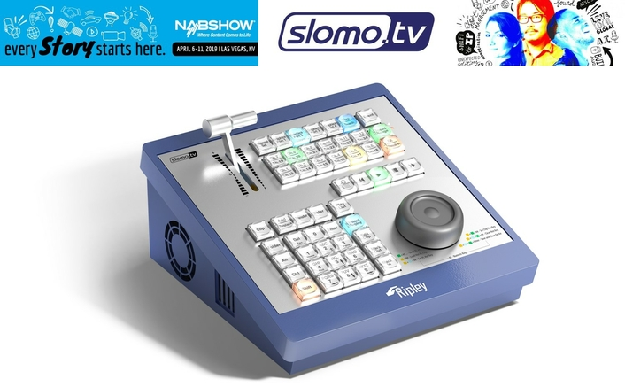 Slomo.tv extends Ripley capabilities