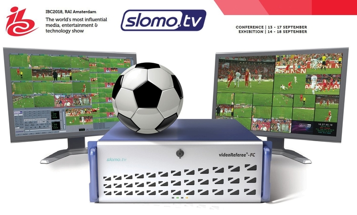 Slomo.tv Launches Enhanced videoReferee® FC System at IBC2018