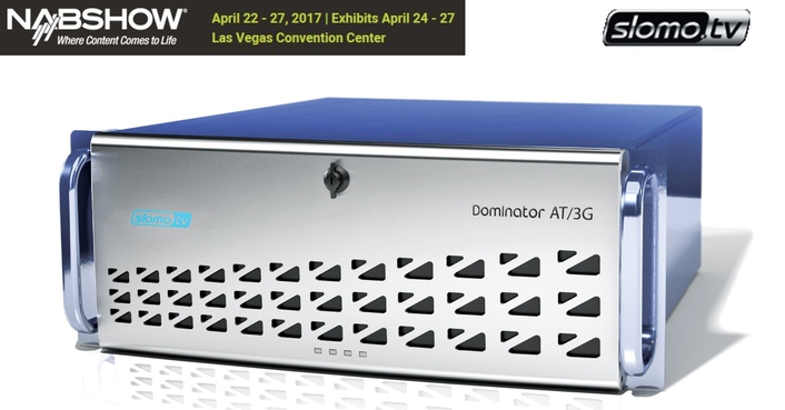 At NAB, Slomo.tv Introduces New 12 Channel 3G/HD/SD Recording Server