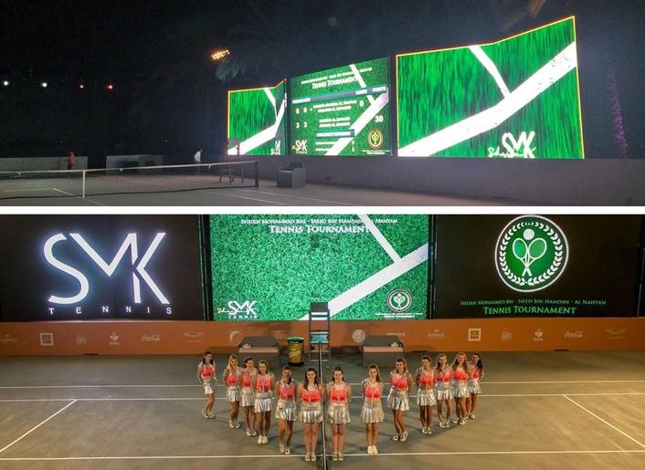 Maestra Provides SMK Tennis Tournament Technical Production
