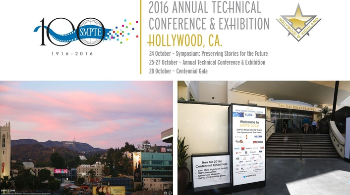 SMPTE® 2016 Annual Technical Conference & Exhibition Celebrates Industry's Past, Present, and Future in Style