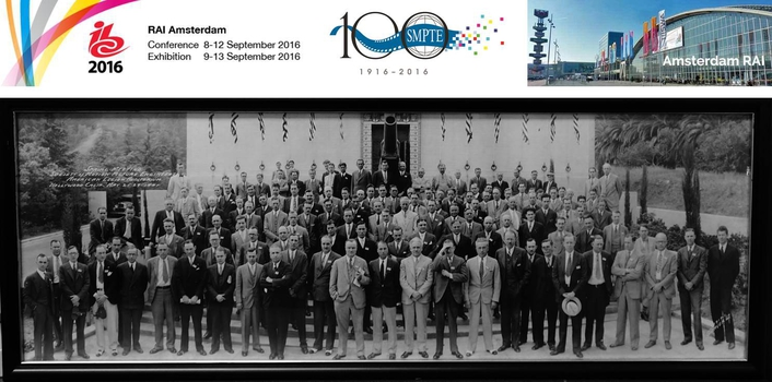 IBC to Celebrate SMPTE in its Centenary Year
