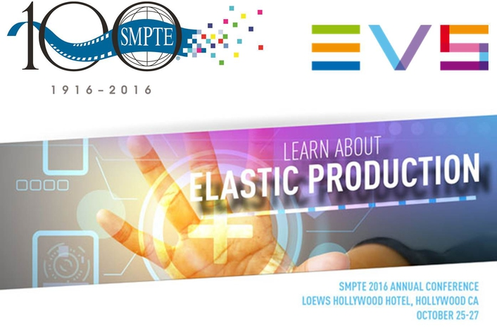 EVS to highlight Virtualization and IP Production solutions at SMPTE