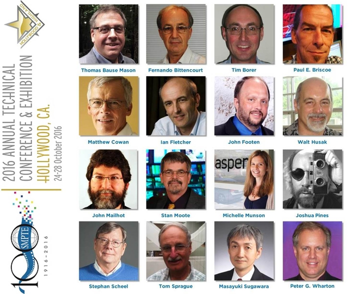 SMPTE® Elevates 16 Motion-Imaging Technology Industry Leaders to Fellow Status