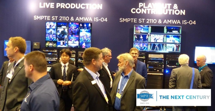 SMPTE® Approves ST 2110 Standards for Professional Media Over Managed IP Networks