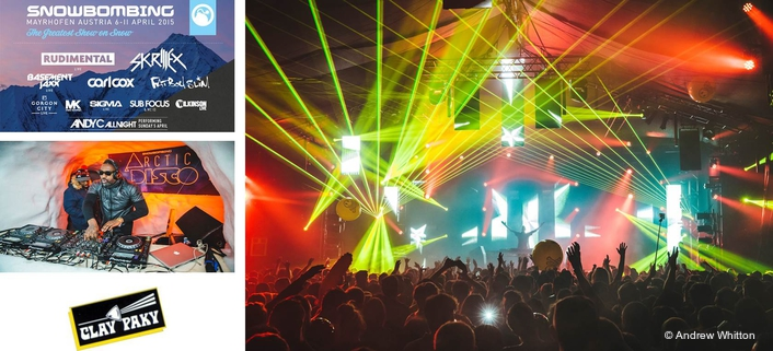 The festival has various areas, such as The Racket Club and Forest and Street Party stages
