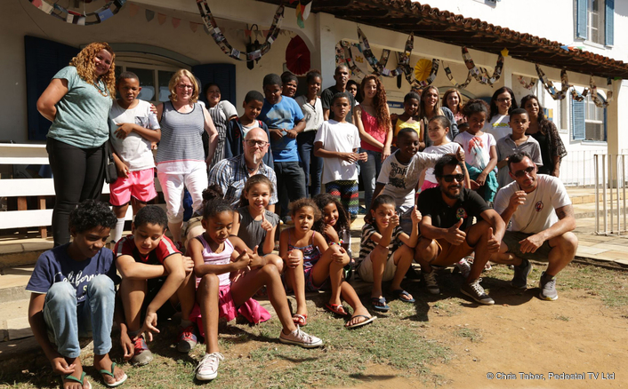 Camera Corps Team Aims High for Task Brasil