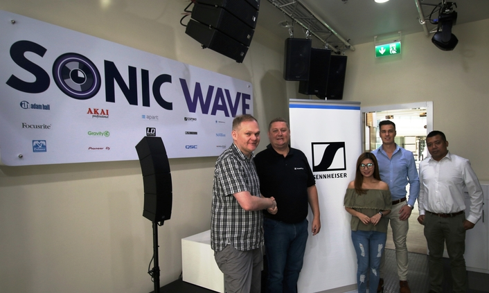SONIC WAVE ENTERS PARTNERSHIP WITH SENNHEISER FOR PROFESSIONAL AUDIO SOLUTIONS IN THE UAE