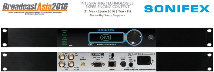 Sonifex Products At Broadcast Asia 2016