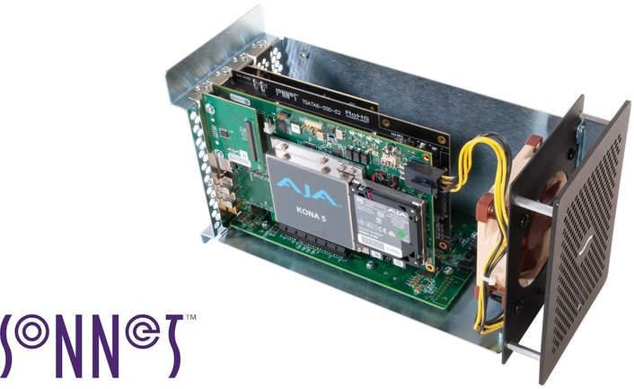 Sonnet Announces Upgraded Compact Three-Slot Thunderbolt™ 3 to PCIe® Card Expansion System