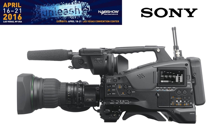 Sony unveils world's first 4K XDCAM shoulder camcorder with 2/3-type image sensor