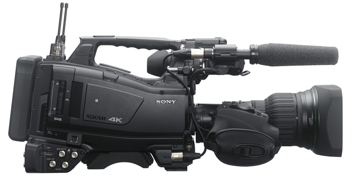 Sony Unveils 4K 8x Super Motion Camera System with Replay Server Function, built for sports live production