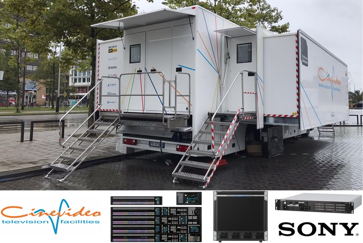 Cinevideo selects Sony Professional Solutions for its first 4K HDR OB Van