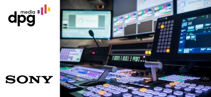 DPG Media creates next-generation IP Live production studio with Sony