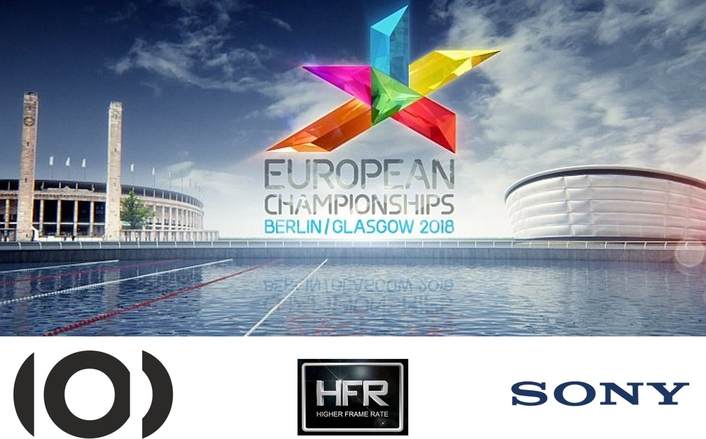 EBU conducts UHD High Frame Rate Tests at European Championships 2018, featuring five Members and 19 technology partners