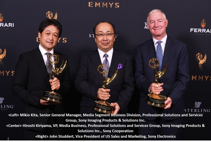 Sony Honoured with Philo T. Farnsworth Corporate Achievement Award at 69th Engineering Emmy® Awards