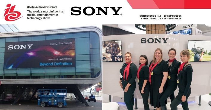 Sony empowers media professionals to  'Go Make Tomorrow' at IBC 2018