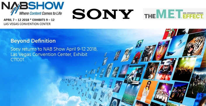 Powering today, transforming tomorrow: Sony demonstrates end-to-end workflows at NAB 2018