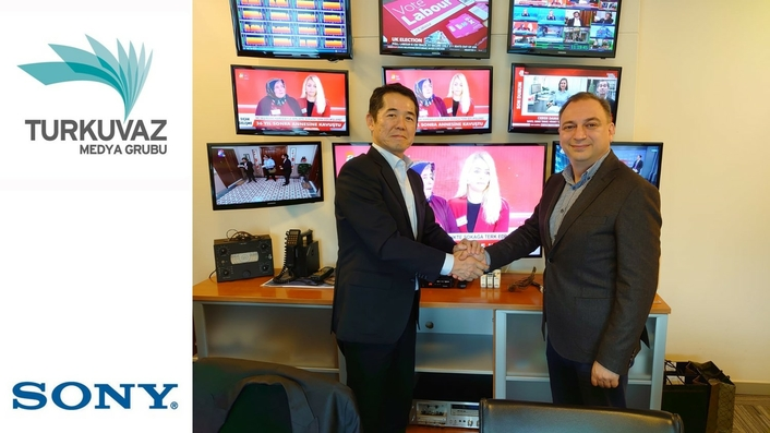Turkuvaz Media Group chooses Sony and Teratek to create  the first all-4K IP HDR-based production centre in Europe