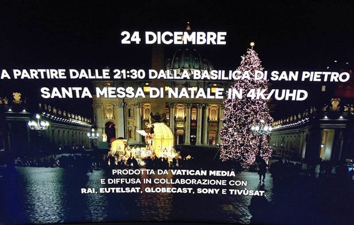 Sony and Vatican Media trial 8K capture with the UHC-8300