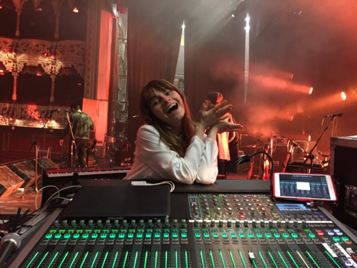 Soundcraft Si Performer 3 console delivers clean, smooth sound for smaller venue tours of chart-topping UK artists, including Gabrielle Aplin and Maximo Park