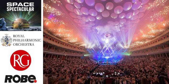 Lighting was crafted by the RAH's Lighting Designer & Systems Manager, Richard Rhys Thomas