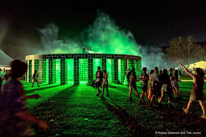 SGM IP65 fixtures bring artwork to life at Australia's biggest  Music + Arts Festival