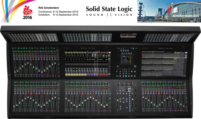 SSL 'SYSTEM T' NETWORKED AUDIO PRODUCTION TECHNOLOGY AT IBC 2016