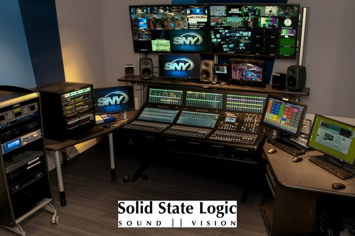 SOLID STATE LOGIC SYSTEM T JOINS THE METS AND THE JETS AT SPORTSNET NEW YORK