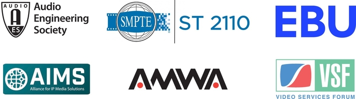AES, AMWA, AIMS, EBU, SMPTE, and VSF Sponsor Educational Theatre and Interoperability Demos Addressing Open Standards-Based IP Transition