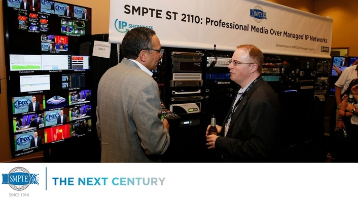 SMPTE Publishes ST 2110 Standards for Professional Media Over Managed IP Networks