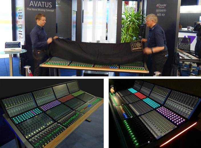 prolight+sound: Stage Tec presents new mixing console concept AVATUS