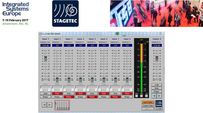 Stage Tec at ISE2017: NEXUS – The Versatile Routing System
