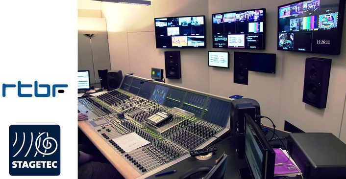 Belgian TV station RTBF continues to rely on Stage Tec