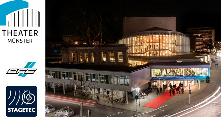 Theater Muenster Continues to Rely on Stage Tec