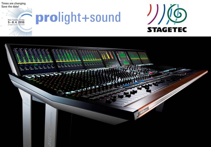 Reinvented: Powerful Platinum DSP for Stage Tec mixing consoles