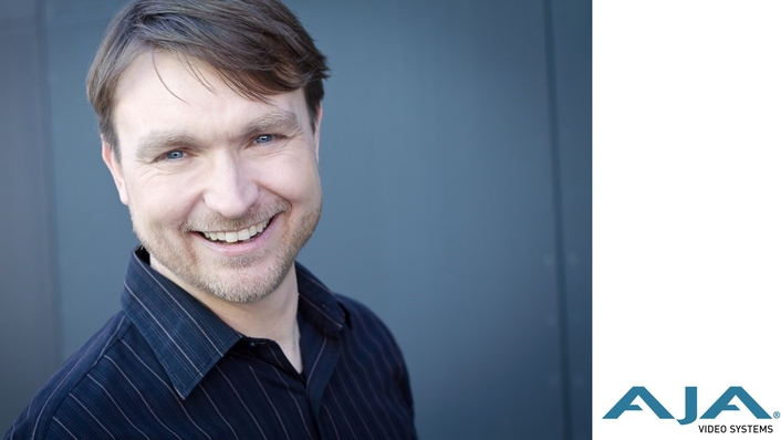 Steve Holyhead Joins AJA Video Systems as Senior Product Manager