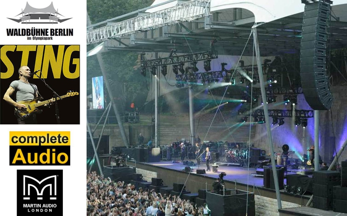 COMPLETE AUDIO'S MLA DELIVERS POTENT STING IN BERLIN'S WALDBÜHNE