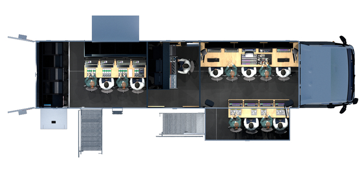 Broadcast Solutions to present new Streamline S12T (12G-SDI UHD) OB Van model