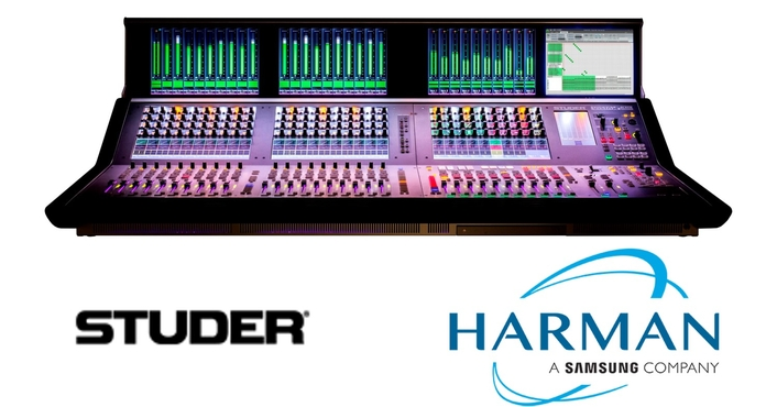 Studer by HARMAN Debuts Powerful, Cost Effective Vista 5 Black Edition