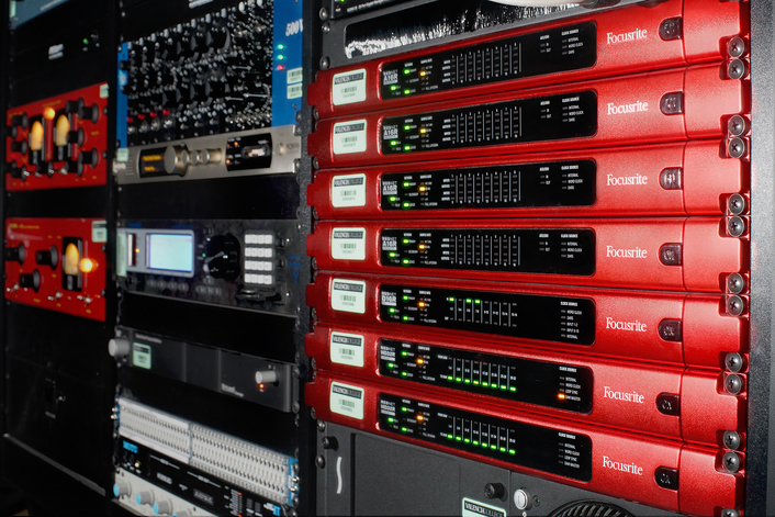 Focusrite RedNet Components Employed at Valencia College's New Film Production and Sound Technology Building
