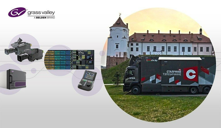 STV Minsk Leverages Future-Ready OB Capability with Grass Valley Solutions Ahead of 2019 European Games