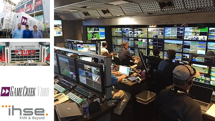 Game Creek Wins Big With IHSE's KVM Systems During 2017 Pro Football Championship