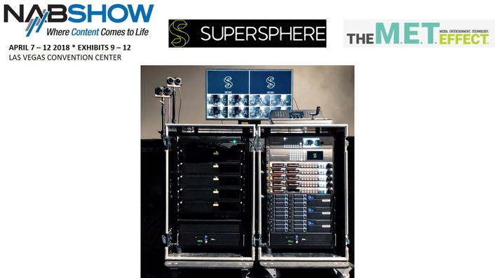 Supersphere to Debut 12G Glass-to-Glass Multi-Geometry Flypacks for Live VR/360° Streaming at NAB Show