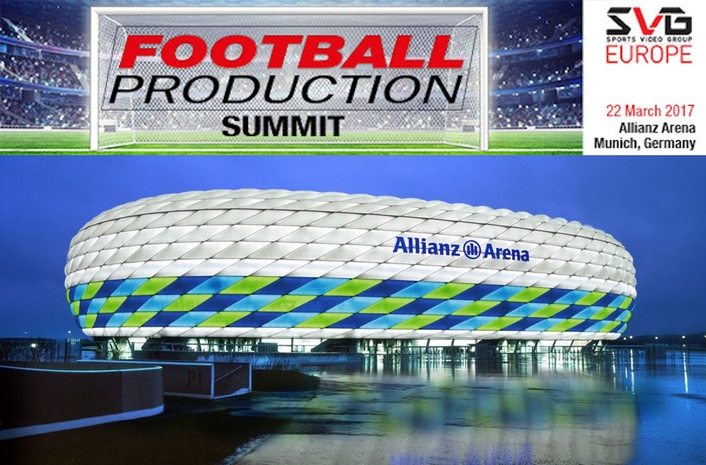 Football Production Summit 2017 set for 22 March in Munich