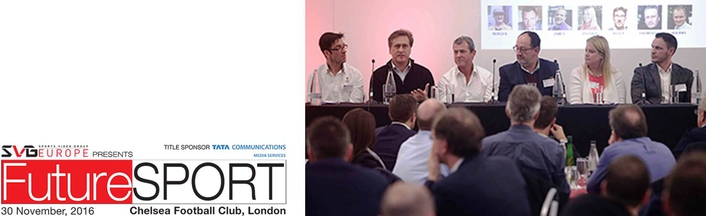 SVG Europe FutureSport summit, 30 November, 2016, London