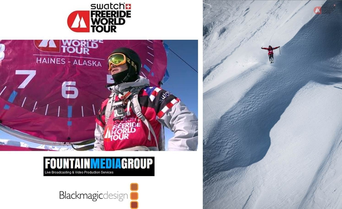 FMG Creates Broadcast Workflow for Swatch Freeride World Tour with Blackmagic Design