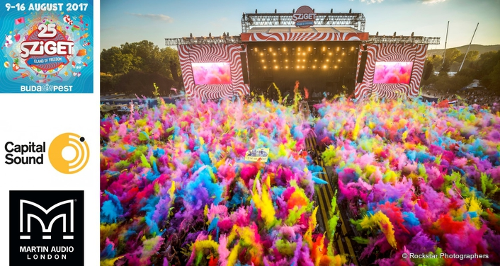 MLA PARTNERS POOL RESOURCES FOR SZIGET'S 25TH YEAR