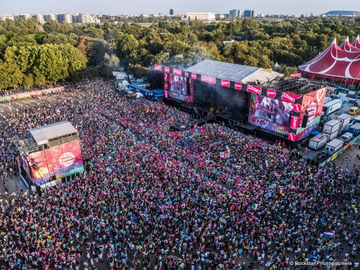 MLA AGAIN REINFORCES 'RECORD' SZIGET FESTIVAL