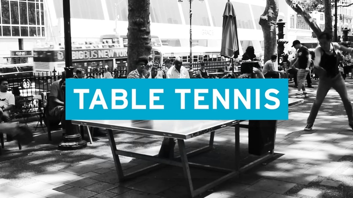 Streaming of Table Tennis on FaceBook Live